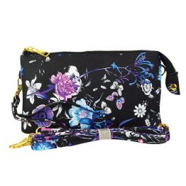 7013 #10 Flower Print Crossbody