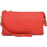 7050-018 Red Woven Crossbody
