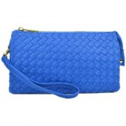 7050-018 Royal Blue Woven Crossbody