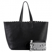 H16012-36 Love Tote Black