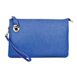 0714-025 Large Crossbody Royal Blue