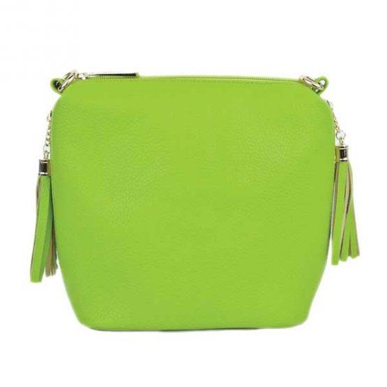 10152-21-024 Fringe Crossbody Green