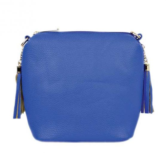 10152-21-024 Fringe Crossbody Royal Blue
