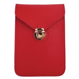 Phone Crossbody Pouch Red