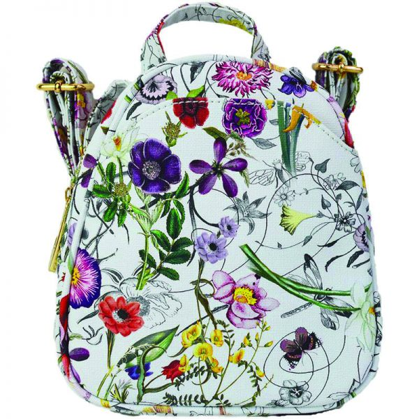 #3 Flower Crossbody Backpack