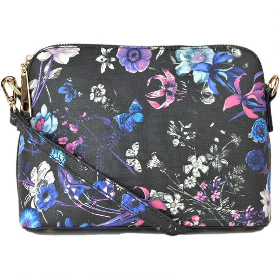 A10119-024 Structured Crossbody #10 Flower