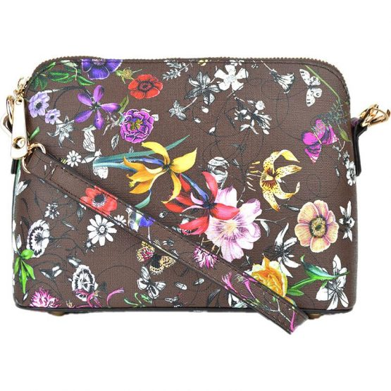 A10119-024 Structured Crossbody #11 Flower