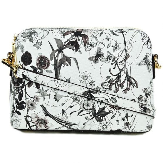 A10119-024 Structured Crossbody #1 Flower