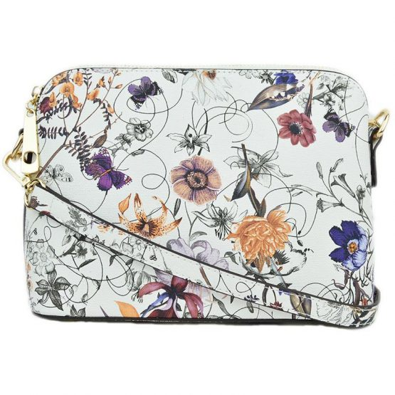 A10119-024 Structured Crossbody #2 Flower
