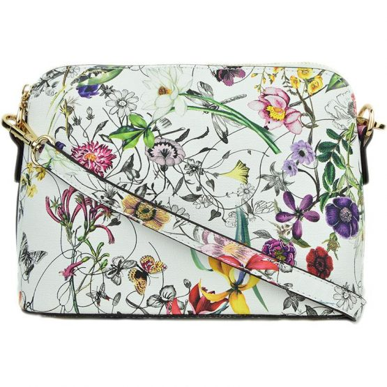 A10119-024 Structured Crossbody #3 Flower