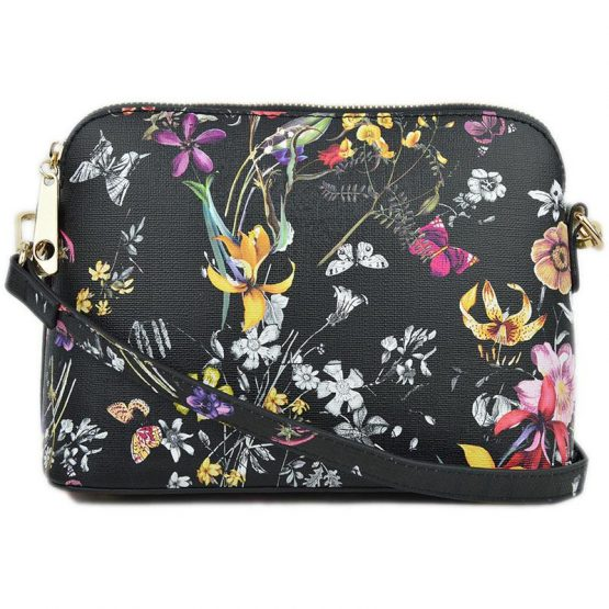 A10119-024 Structured Crossbody #8 Flower