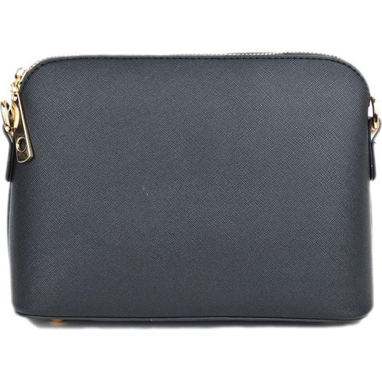 A10119-024 Structured Crossbody Black