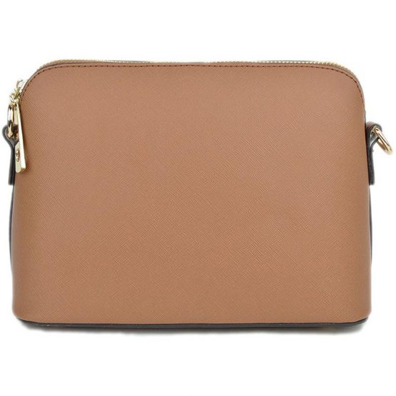 A10119-024 Structured Crossbody Camel