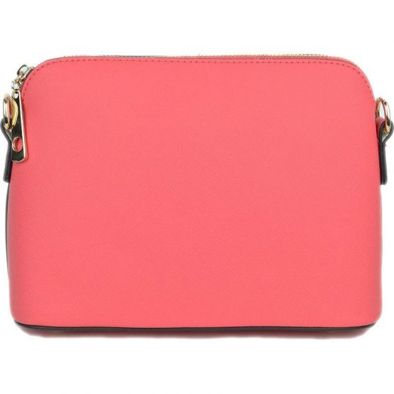 A10119-024 Structured Crossbody Coral Pink
