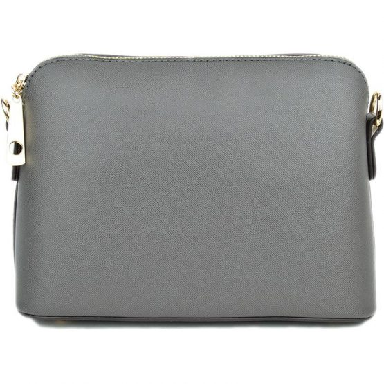 A10119-024 Structured Crossbody Grey