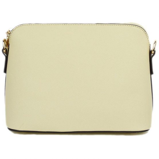 A10119-024 Structured Crossbody Light Beige