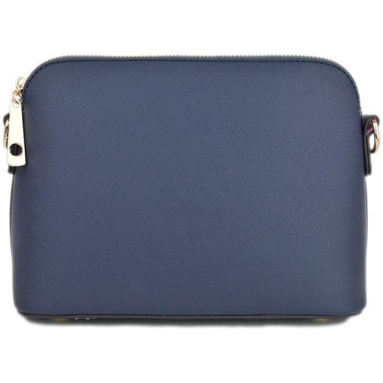 A10119-024 Structured Crossbody Navy Blue
