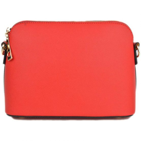 A10119-024 Structured Crossbody Red