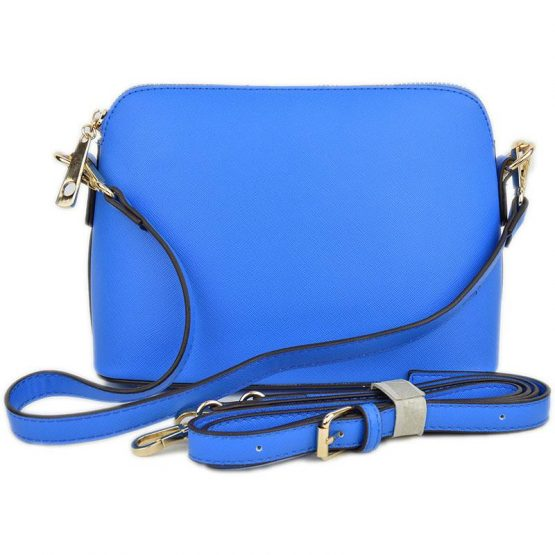 A10119-024 Structured Crossbody Royal Blue Strap views