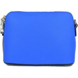 A10119-024 Structured Crossbody Royal Blue front view