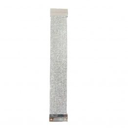 B969-12 Silver Bling Cuff