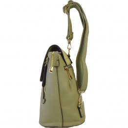 5319-034 Convertible Backpack Green side view