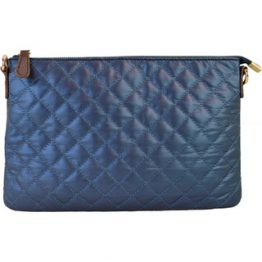 8627-022 Quilted Crossbody Navy