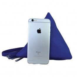 7092-014 Triangle Wristlet Royal Blue size