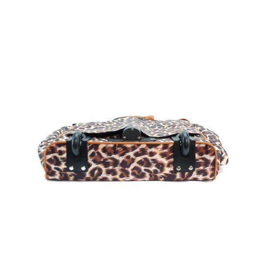 Leopard-059 Rolling Tote2