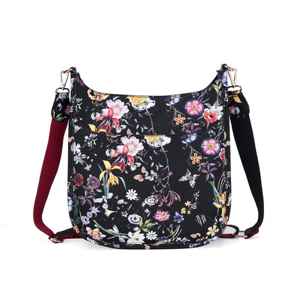 Crossbody Messenger Bag 8 Floral
